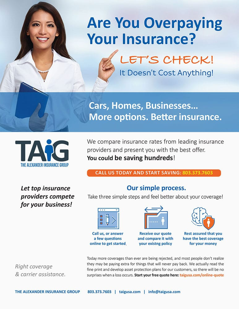 TAiG INSURANCE One-Pager